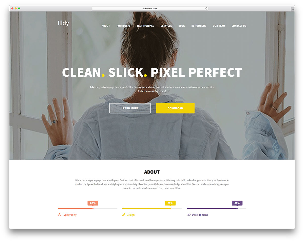 illdy-free-business-landing-page-theme